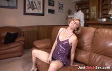MILF gets her asshole ravished by a black dude