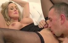 MILF Brandi Love pussy licked and fucked